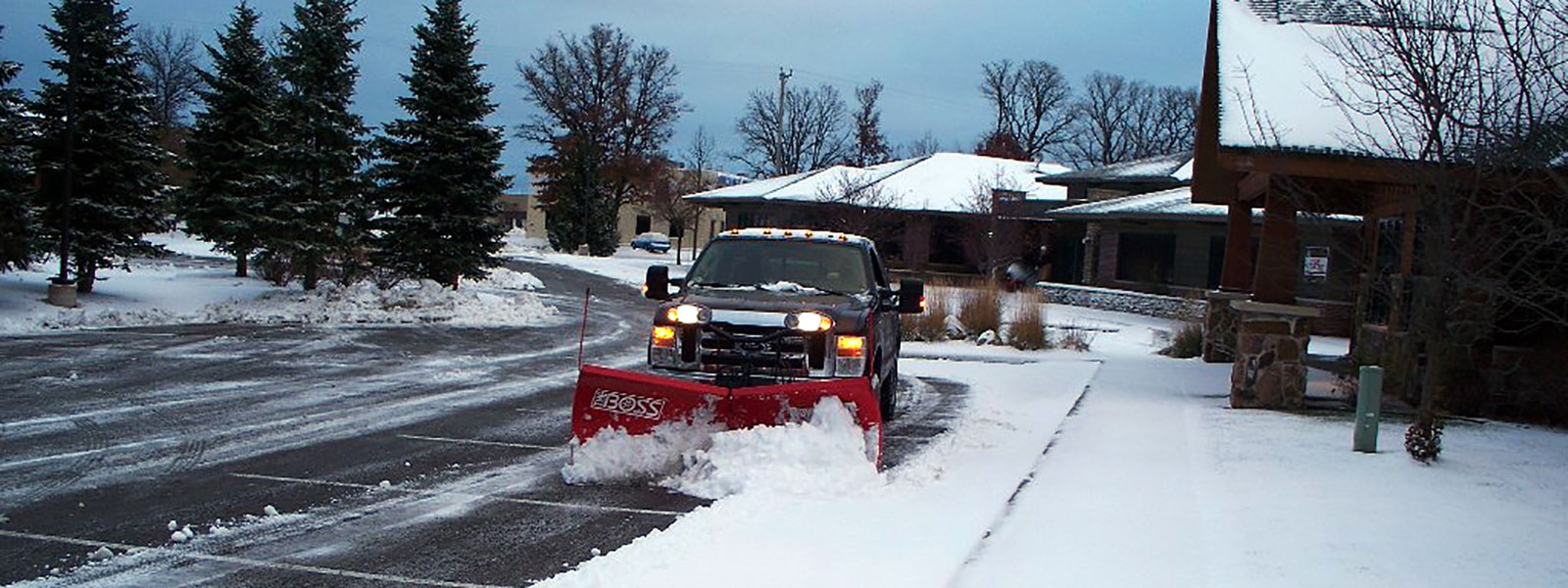 Commercial Snow Plowing Image